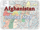 Political Map Afghanistan
