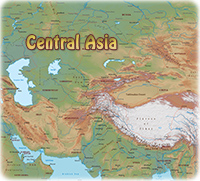 Asia Atlas - Maps of Countries