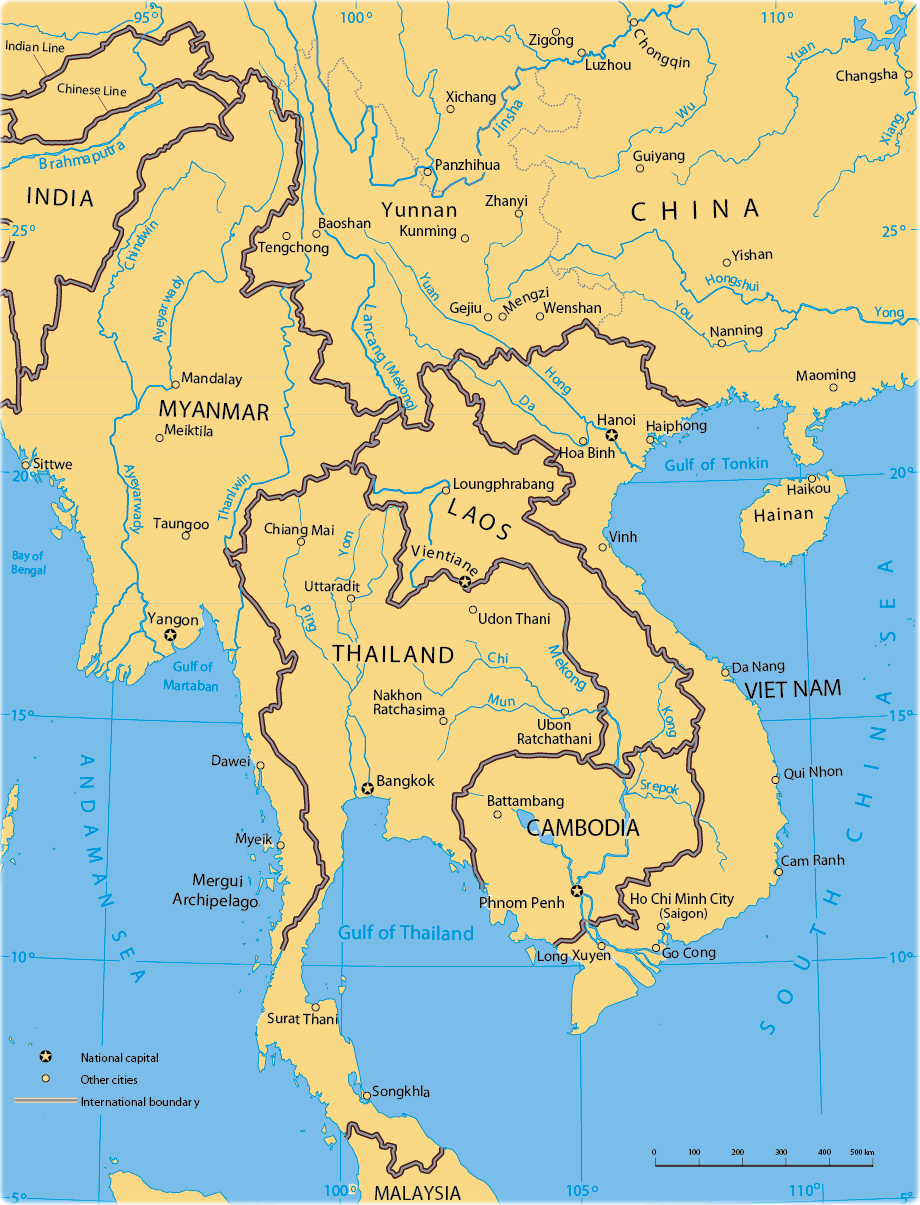 Picture of: Mekong River Region